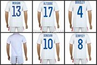 America soccer jersey 2014 world cup DONOVAN BRADLEY DEMPSEY ALTIDORE MORGAN soccer football uniforms