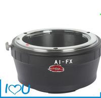 AI-FX lens adapter for Nikon F AI Mount Lens to Fujifilm X-Pro1 X-E1 adapter ring
