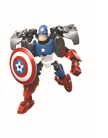 18cm brinquedo Action Figure New Arrival Children Toys Super Heroes Avengers Iron Man Hulk Captain America for Kids toys WJ019(China (Mainland))