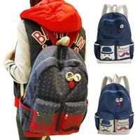 Women Canvas Girl Travel Backpack Leisure Bags School Bag Rucksack