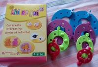 4 Sizes Essential Pom Pom Maker Fluff Ball Weaver Needle Craft Tool Mixed Needlework DIY  Handicraft Store