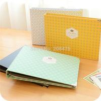 Free Shipping Diy photo album South Korea original manual paste baby couple photo album