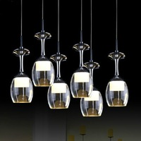 Modern acrylic pendant light Fashion home LED lamp Creative 3 lights blackjack lighting fixture Free shipping PL347