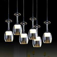 Modern acrylic pendant light Fashion home LED lamp Creative 3 lights blackjack lighting fixture Free shipping PL347