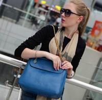 Free shipping new 2014 casual women bags metal chain shoulder bags women handbags brand messenger bags