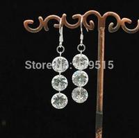 jewelry 925 sterling silver cubic zirconia earrings