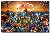League of Legends LoL Game Silk Wall Poster 36x24 26x14 inch Dota 2 Boy Girl Room Prints (032)