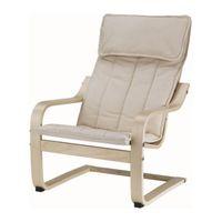 1 piece natural color Birch veneer frame 100% cotton seat children leisure armchair