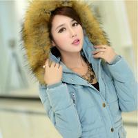 2014 New Hot Sale Winter Women/Students Brand Coat Casual Gift Parka Short Down Jacket Plus size  L-XXXL  YY0617
