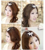 Indian Princess Bohemian Vintage Forehead  Wedding Bridal hair Accessories Hair Ornament