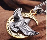The new silver copper mashup moonlit feiying pendant