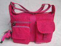 2014 NEW women brand bag casual zipper waterproof nylon kip handbag monkey shoulder bag messenger bag 11 colors free shipping