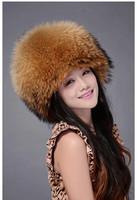 Fox fur hat raccoon hat female winter 2014 winter fox fur  girl  hat woman really cheap free shipping