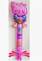 peppa pig balloon peppa pig party supplies cute peppa pig balloon peppa pig party decorations for Christmas Halloween Party