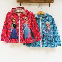 2014 Korean fashion Children Lovely Jacket Child Girl Clothing Long Sleeve Single  Jacket K6225