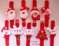 21.5*2.8cm Christmas gift Pat hand ring bracelet for children Slap/Party Decorations Slap Bracelet Free shipping 240pcs/lot