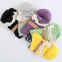 2014 Izmir Beautiful Lace Women Cotton Socks Fashion&Soft 2 Styles 5 pairs/lot