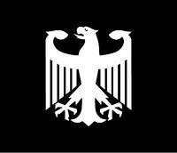 Free shipping,GERMAN EAGLE Vinyl Decal Car Window Bumper Sticker Car sticker