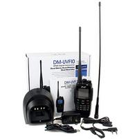 2pcs/lot Free shipping TYT DM-UVF10 UHF+VHF 400-470/136-174Mhz DTMF VOX 1750Hz DPMR Digital Transceiver UVF10