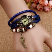 Retail free shipping New fashion Vintage watches Ladies' watches fashion bracelet quartz watches men