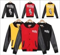 Winter NEW Men outwear PYREX print sweatshirt sexy girl print sportwear casual baseball jacket Hip hop coats three colors