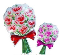 wholesales Rose balloons  Helium balloons Aluminum foil balloons for Christmas Halloween Party