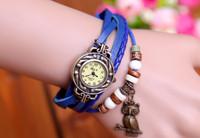 Retail free shipping New fashion Vintage watch women relogio masculino cartoon watch