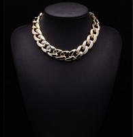2014 New Women Arrival PUNK Clain Mental Jewelry ZA Brand Fashion Statement Good Quality Luxury Statement Jewelry 9264