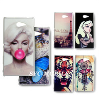 New Marilyn Monroe Hard Back Cover Case for Sony Xperia M2 case for Sony Xperia M2 S50H Cover Free Shipping