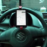 Multifunction Car mobile phone holder steering wheel Vehicle navigation holder Car GPS rest Car Accessories