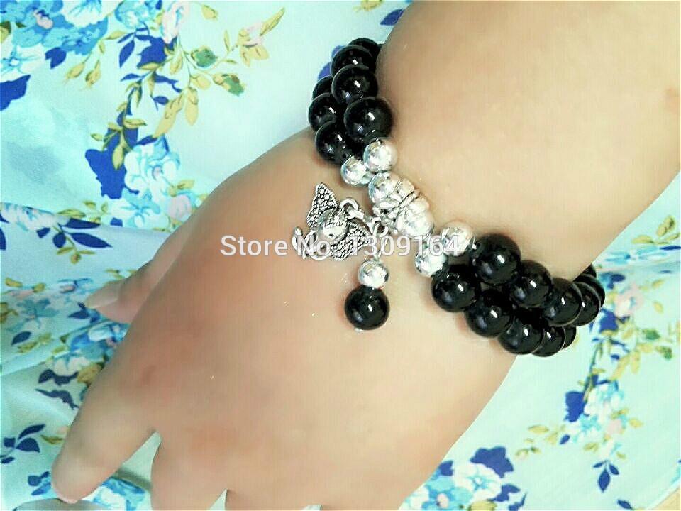 New Design Charms Pendant Bracelet with all kinds of pendant Delicate Graceful Bracelet Stretch Bangle&Bracelet Birthday Gift(China (Mainland))