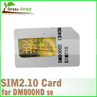 2.10 Sim Card for Satellite Receiver DM 800se ,Dm800se-c SR4 ,Dm800se with wifi Series Sim 2.10 Bootloader#84