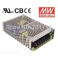 NES-75-5;5V/75W meanwell switch mode led power supply;AC100-240V input;5V/75W output