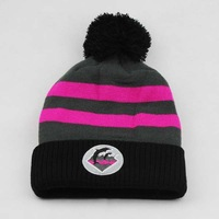 2014 new fashion beanie winter hats with pom fashion hip hop hat and cap for men women knitted Skullies Free Shipping cheap bone