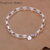 H203 2015 fashion vintage women 925 silver plated bracelets , wholesale classic design silver bracelet fashion jewelry