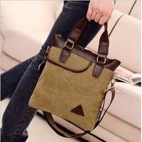 Vintage canvas men's travel bag Messenger desigual School Shoulder Bags Military Casual Travel Buckle handbag freeshipping