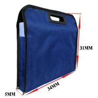 Nylon Document Files Organizer Bag File package for A4 Paper