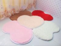 40*50cm  50*60cm--2014 New Arrival Loving Heart Flokati Shaggy Ivory  Anti-skid Carpet Living Dining Bedroom Car/Brand Rug