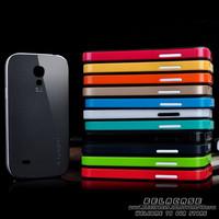100pcs S4mini Hybrid Neo Spigen SGP TPU Case for Samsung Galaxy S4 mini i9190 Mobile Phone Bags Cases Protective back skin cover