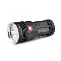 UltraFire L-6XL2 6 x CREE XM-L2 T6 3-Mode 3600lm White Flashlight - Black (4 x 18650)