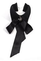 Free shipping The elegant black tie business tie gentleman