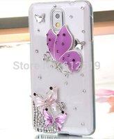 D Handmade Luxury Shining Glitter Crystal Diamond Rhinestones Hard Back Case Cover for Samsung Galaxy S5/ GS 5 V I9600