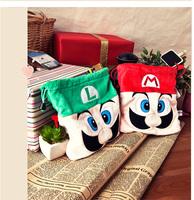 super mario cartoon coin purses money clip purse wallet coin bags