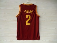 Free Shipping Kids Cleveland 2 Kyrie Irving Basketball Jerseys Youth, New Fabrics REV 30 Basketball Jersey Youth Embroidery Logo