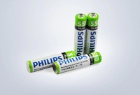 Free shipping high quality 4 pcs RECHARGEABLE NiMH AAA battery, 550mAh for Philips with good quality and best price