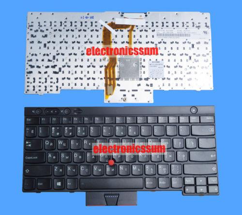 For Thinkpad X230I X230T W530 L430 L530 CS12-84SU Laptop Keyboard RU Russian(China (Mainland))