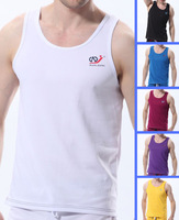 Sexy Men's Home Sports Casual Underwear Mens GYM Running Tank Tops A-shirt Singlet T Shirts Sleeveless Muscle Vest S M L XL