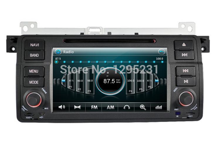 Car dvd for bmw E46 M3 318i 320i 325i 328i with 1080P Video Radio Stereo GPS Free Shipping(China (Mainland))