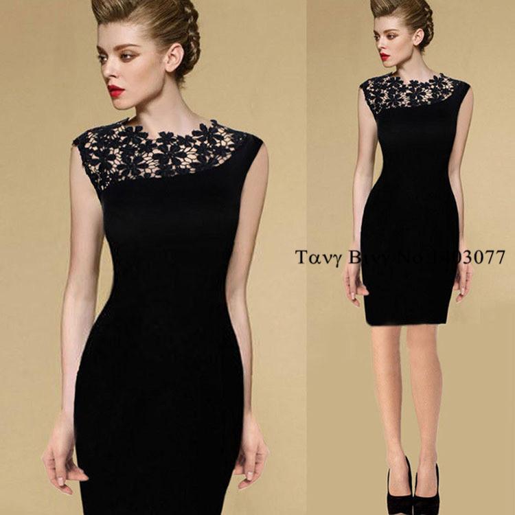 Vinatge Women Bodycon Lace Dress 2014 New Desigual Slim Sheath Girls Dress Plus Size Casual Pencil Bandage Dresses Hot Sale(China (Mainland))