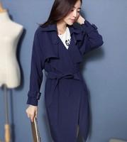 2014 Hitz high-end European and American big long coat Slim temperament lace coat jacket NDZ194 Y9W